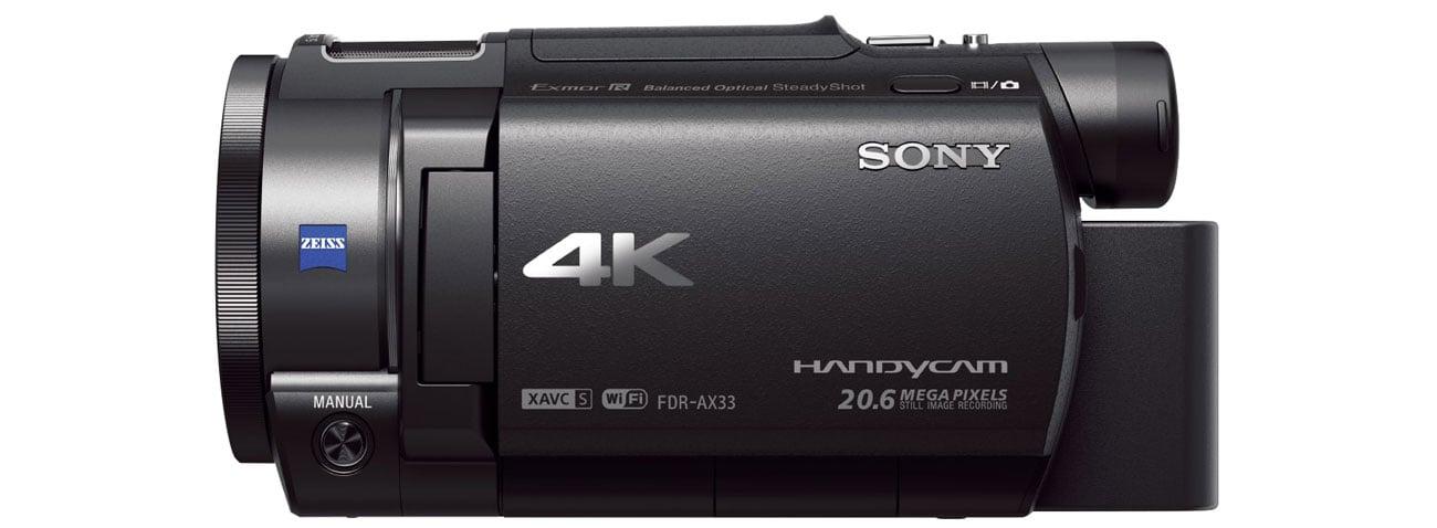 Sony FDR AX33 Funkcje
