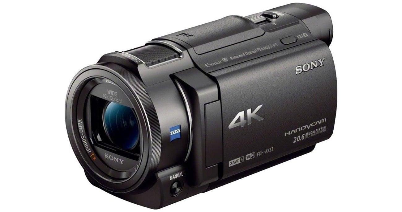 Sony FDR AX33 Kluczowe cechy