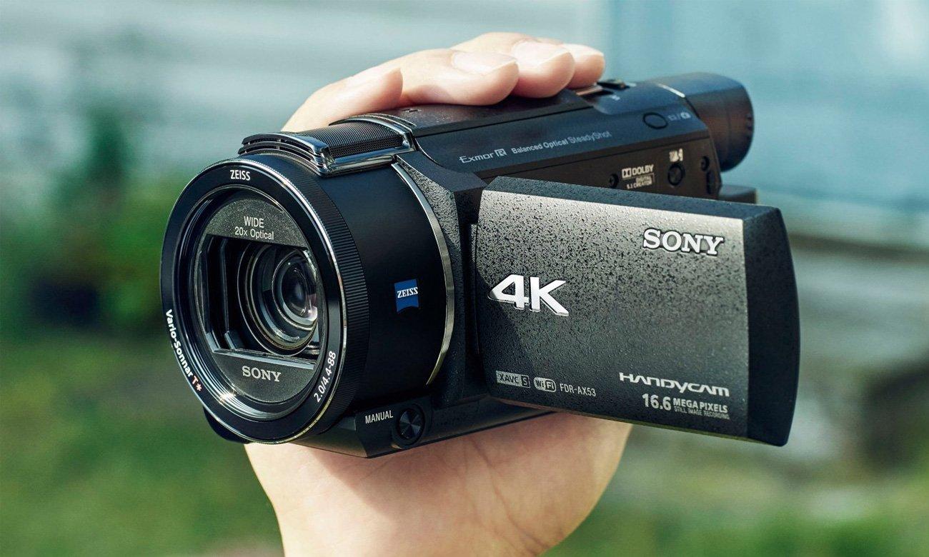 Sony FDR-AX53B Funkcje