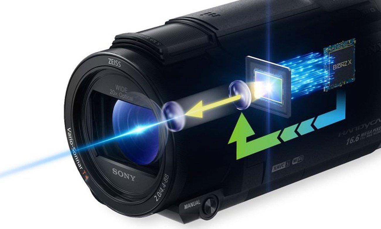 Sony FDR-AX53B Autofokus