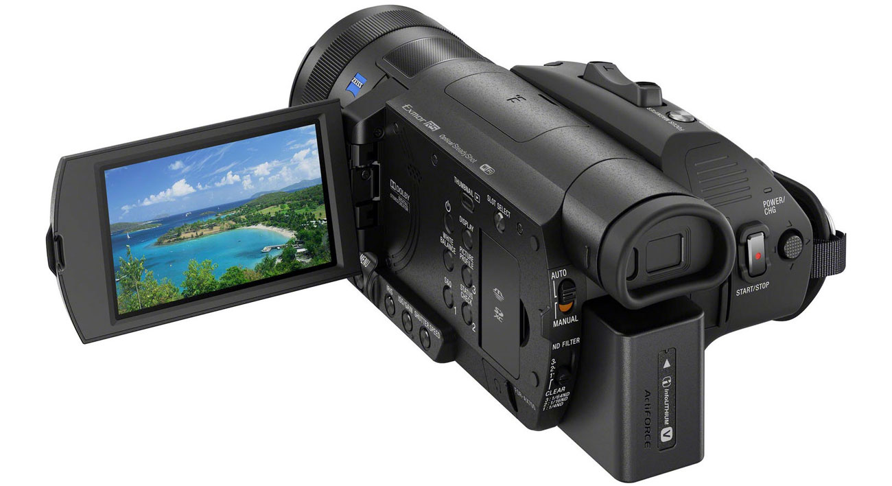 Kamera cyfrowa Sony FDR AX700