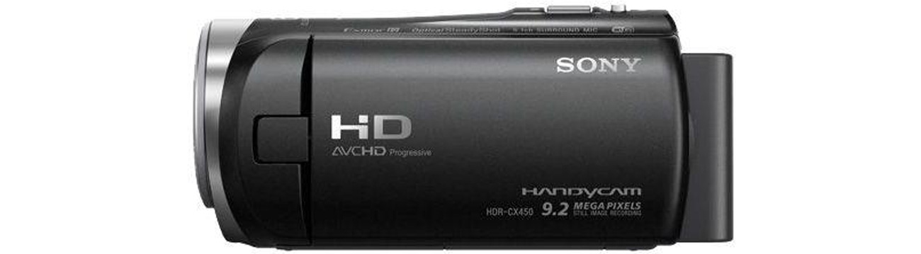 Sony HDR-CX450B Funkcje