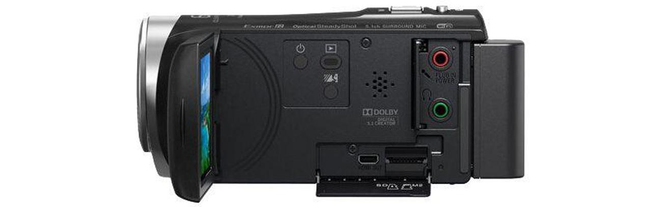 Sony HDR-CX450B Jakość Obrazu