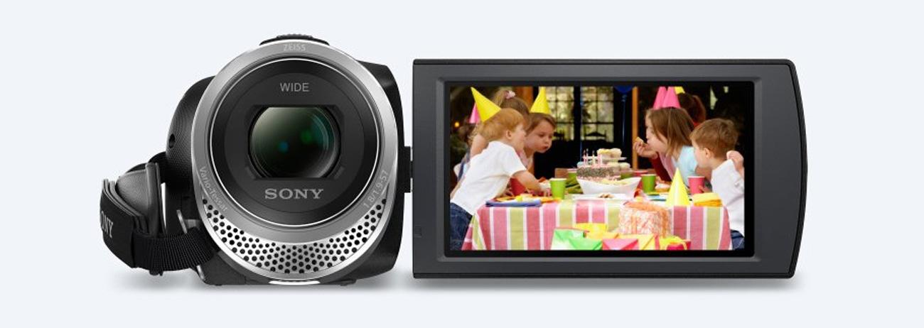 Sony HDR-CX450B Obiektyw