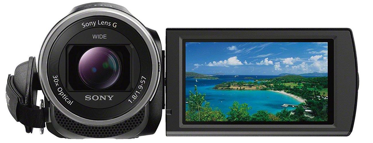 Sony HDR-CX625B Obiektyw