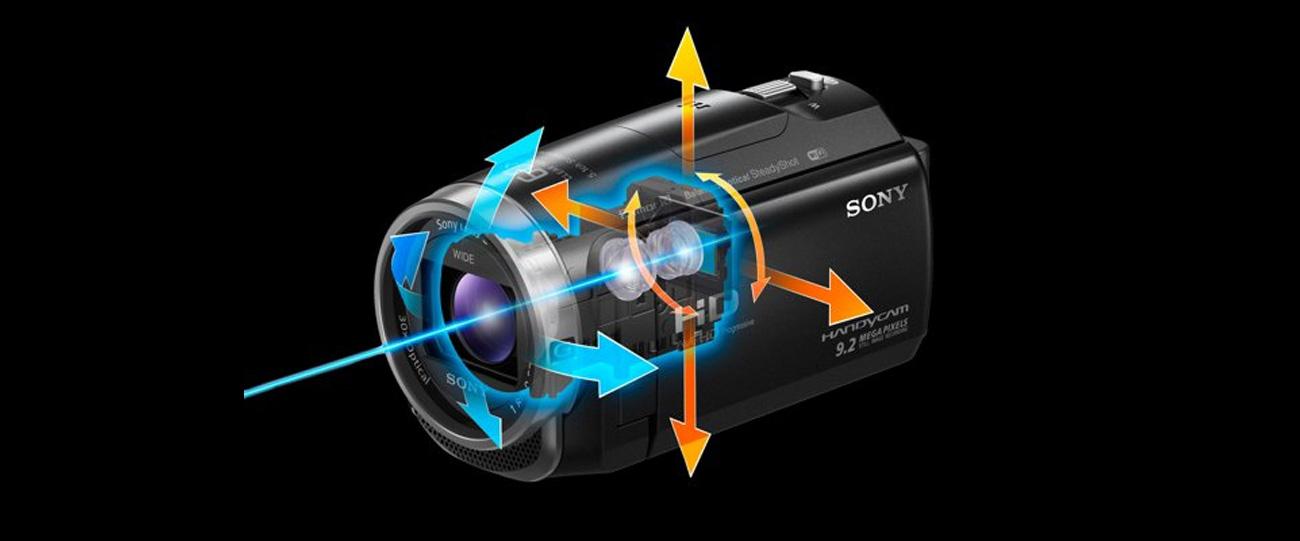 Sony HDR-CX625B Stabilizacja Obrazu