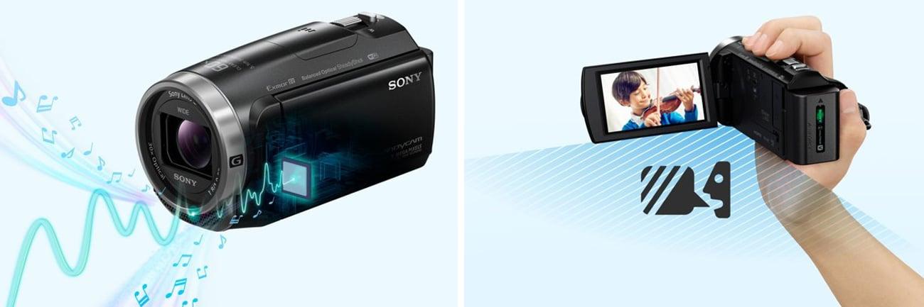 Sony HDR-CX625B Funkcje