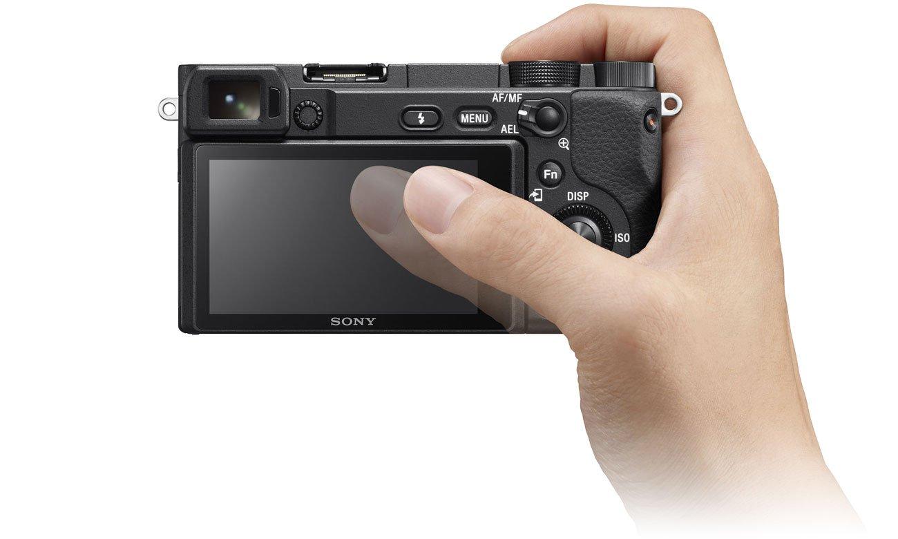 Sony ILCE A6400 - Dotykowy ekran
