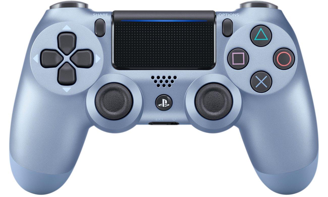 DualShock 4 w kolorze tytanowego błękitu