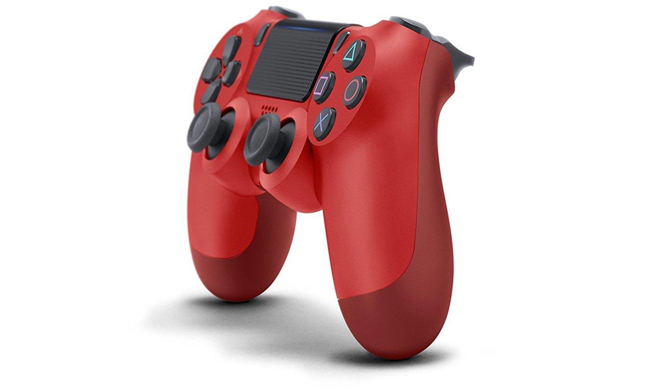 Kontroler DualShock 4 czerwony V2