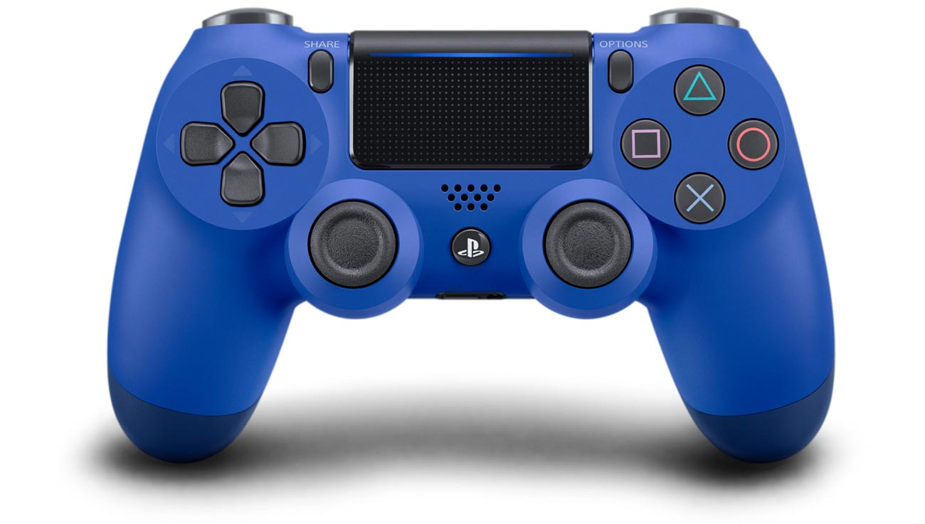 Kontroler DualShock 4 niebieski V2