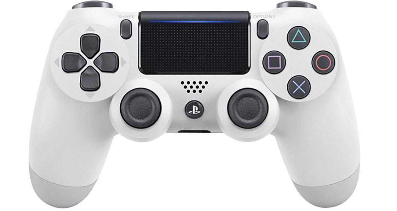 Kontroler DualShock 4 biały V2