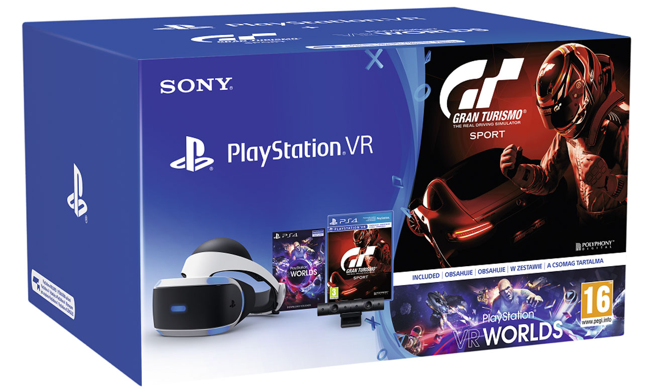 Zestaw PlayStation VR Gran Turismo Sport