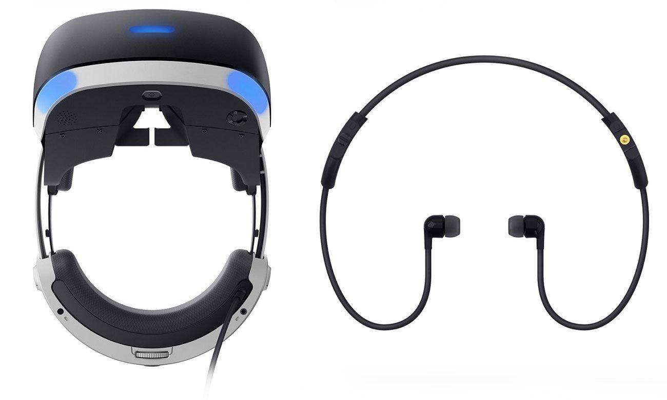 PlayStation VR Widok z boku