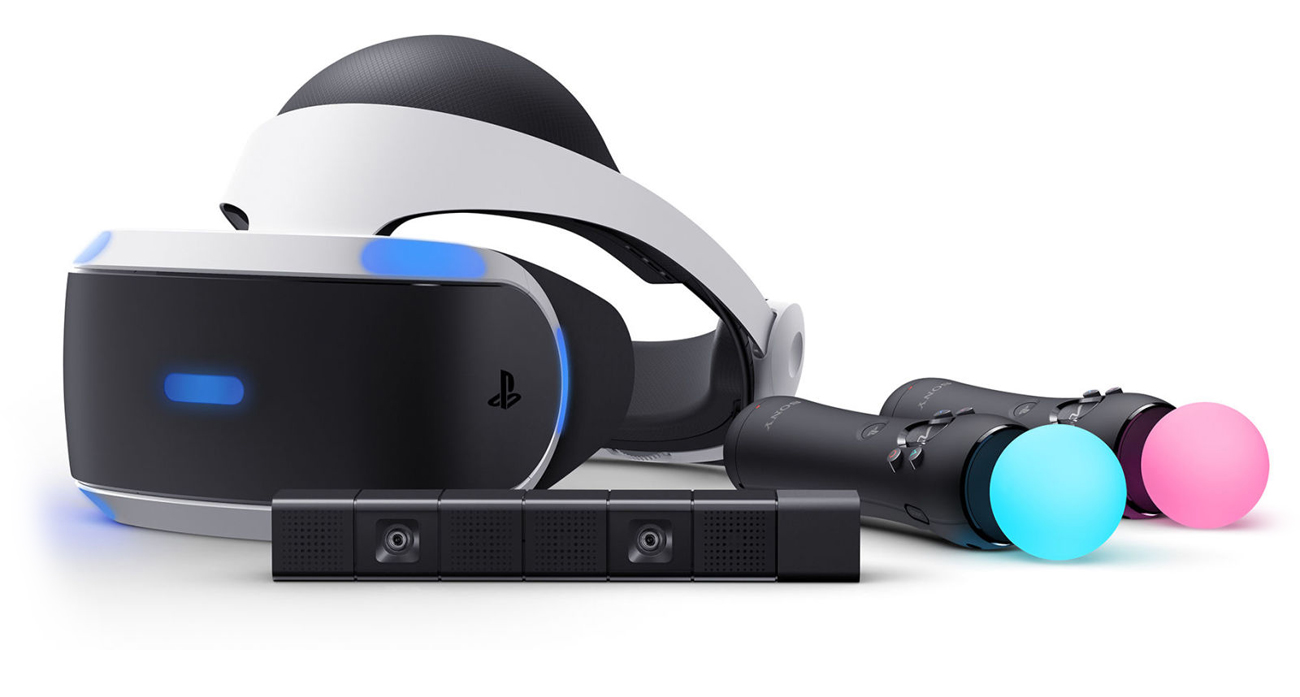 PlayStation VR Kamera kontrolery
