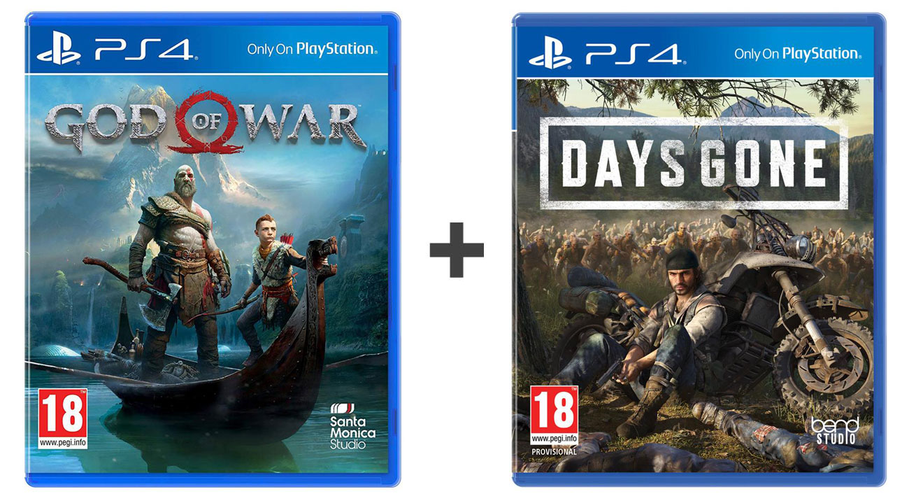 Zestaw God of War + Days Gone