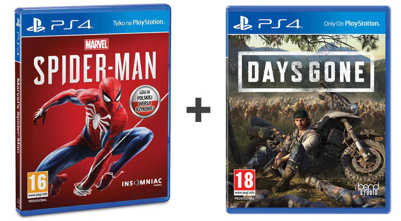 Zestaw Spider-Man + Days Gone