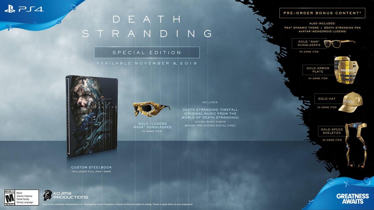 Gra PS4 Death Stranding Edycja Specjalna
