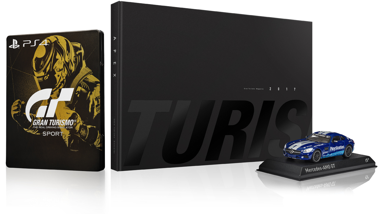 sony gran turismo sport collectors edition gry na. Black Bedroom Furniture Sets. Home Design Ideas