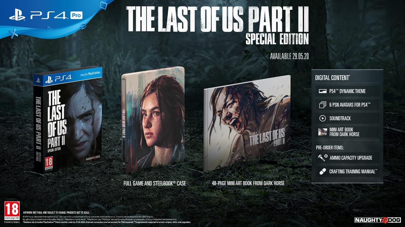 Gra PS4 The Last of Us Part II Edycja Specjalna