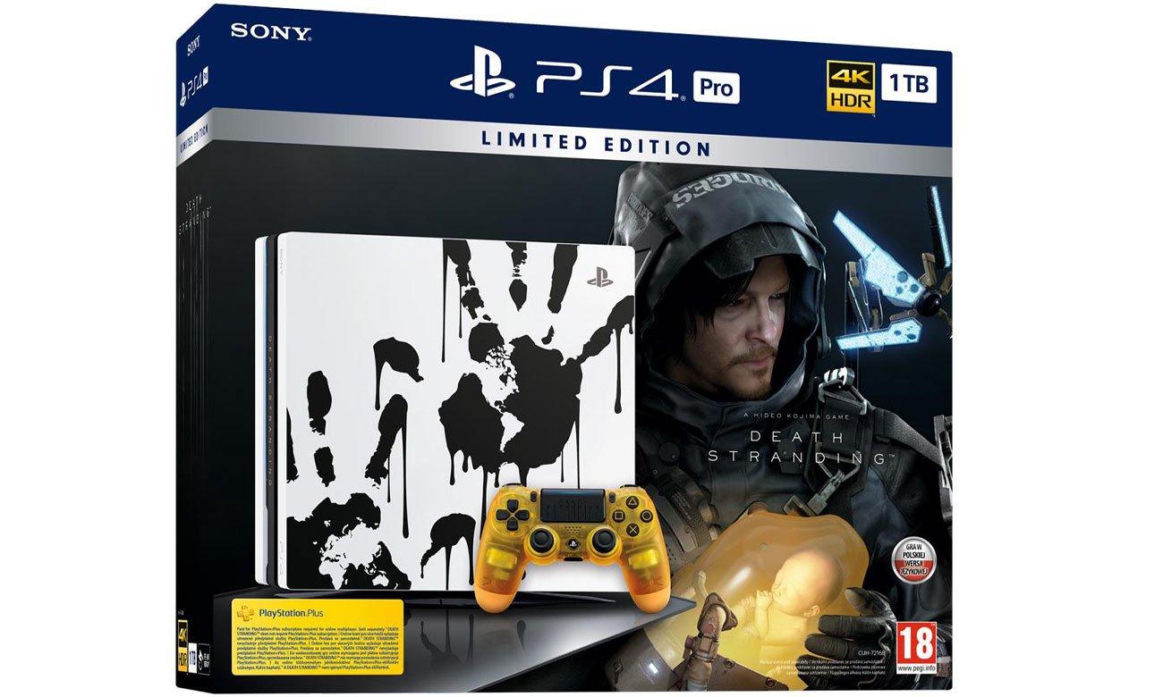 Limitowana edycja konsoli PS4 PRO 1 TB + Death Stranding