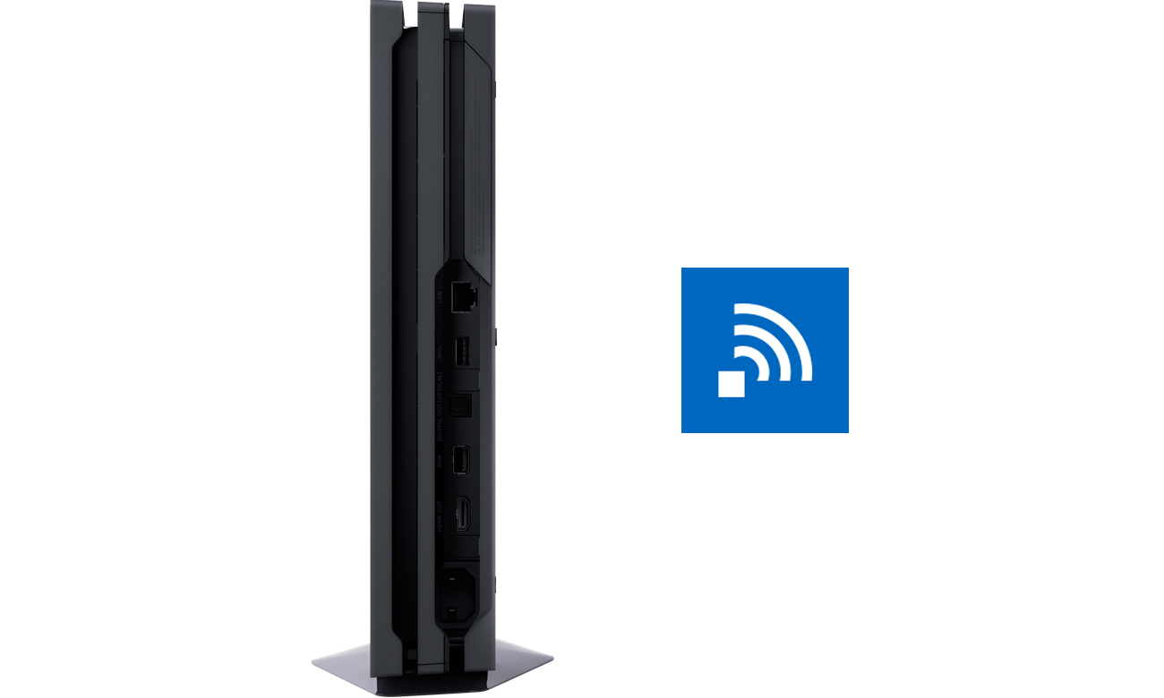 Lepsze Wi-Fi - KONSOLA SONY PLAYSTATION 4 PRO 1TB + GRA FORTNITE - playstation 4 pro, konsola playstation, konsola playstation 4, konsola ps4, playstation konsola, solpol