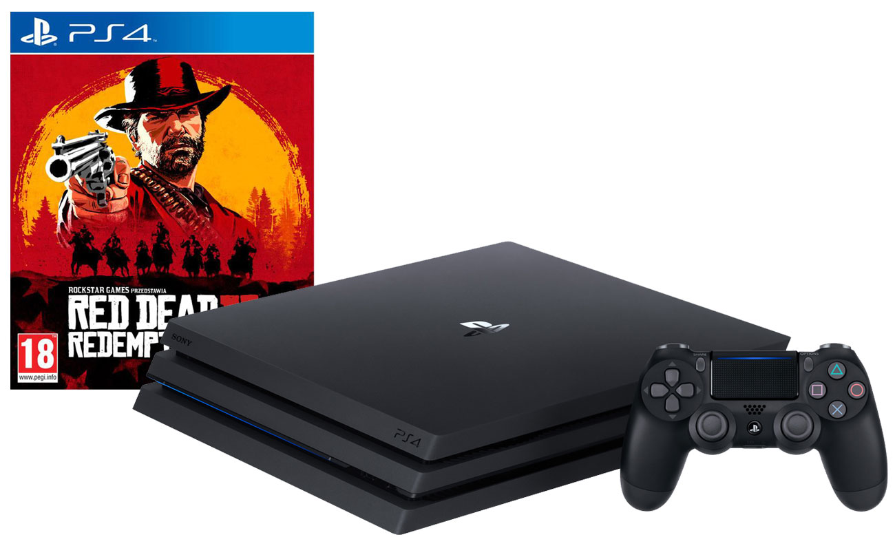 PlayStation 4 PRO w zestawie z grą Red Dead Redemption 2