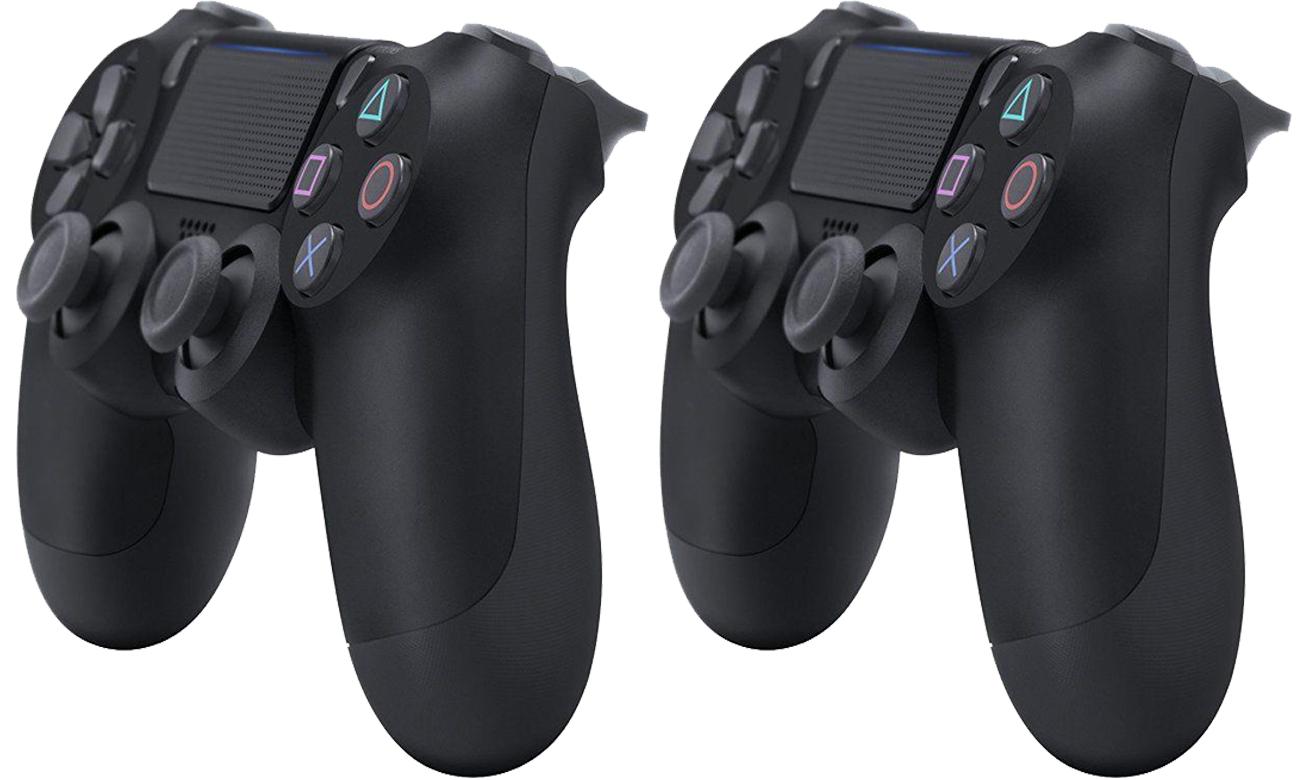 Dwa kontrolery bezprzewodowe