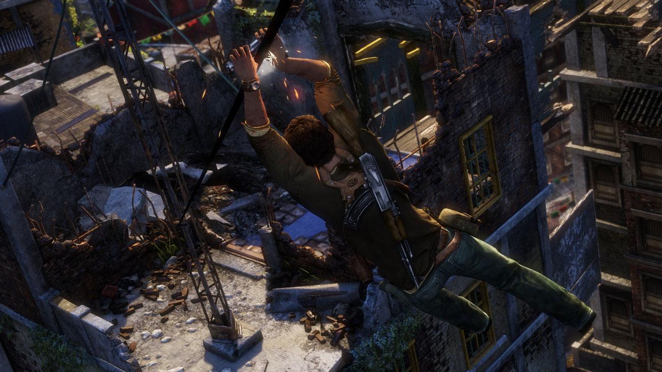 Gra PS4 Uncharted 2: Pośród Złodziei Remastered