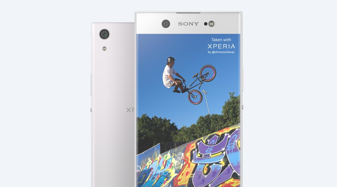 Sony Xperia XA1 Ultra aparat 23 mpix exmor rs