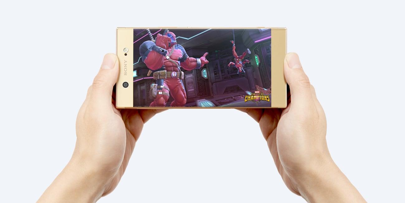 Sony Xperia XA1 Ultra ośmiordzeniowy procesor MediaTek Helio P20