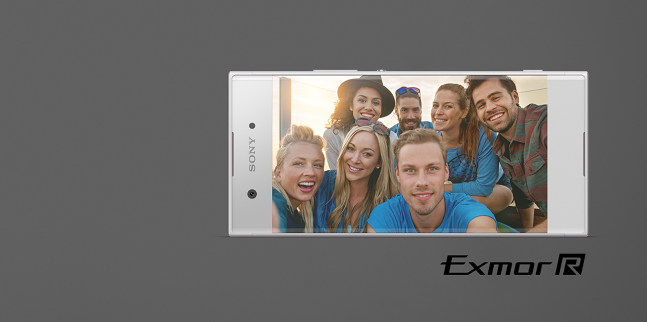 Sony Xperia XA1 szerokokątne selfie obiektyw 23mm