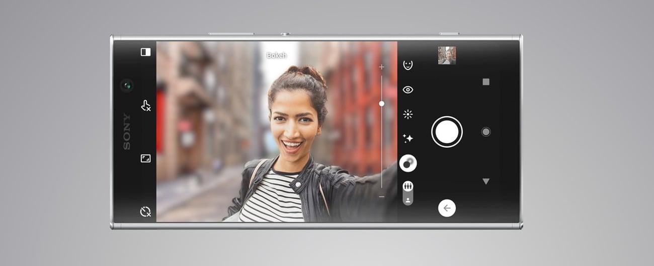 Sony Xperia XA2 Plus szerokokatne selfie 8 mpix