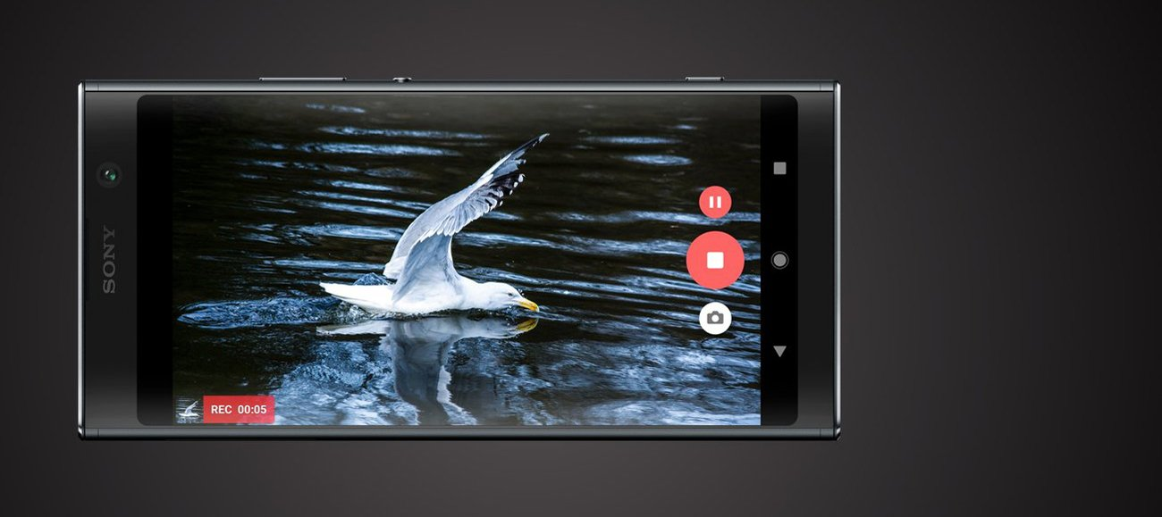 Sony Xperia XA2 Plus filmy w spowolnieniu i 4K