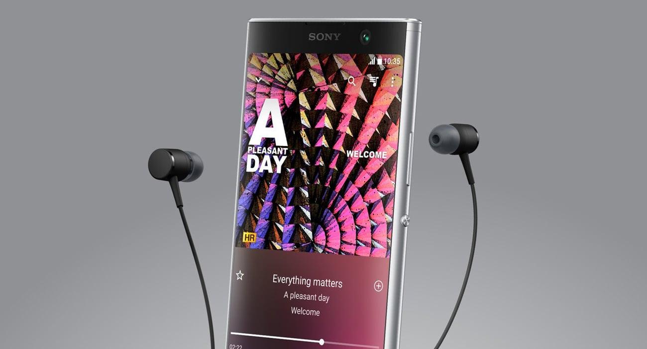 Sony Xperia XA2 Plus studyjna jakość dźwięku