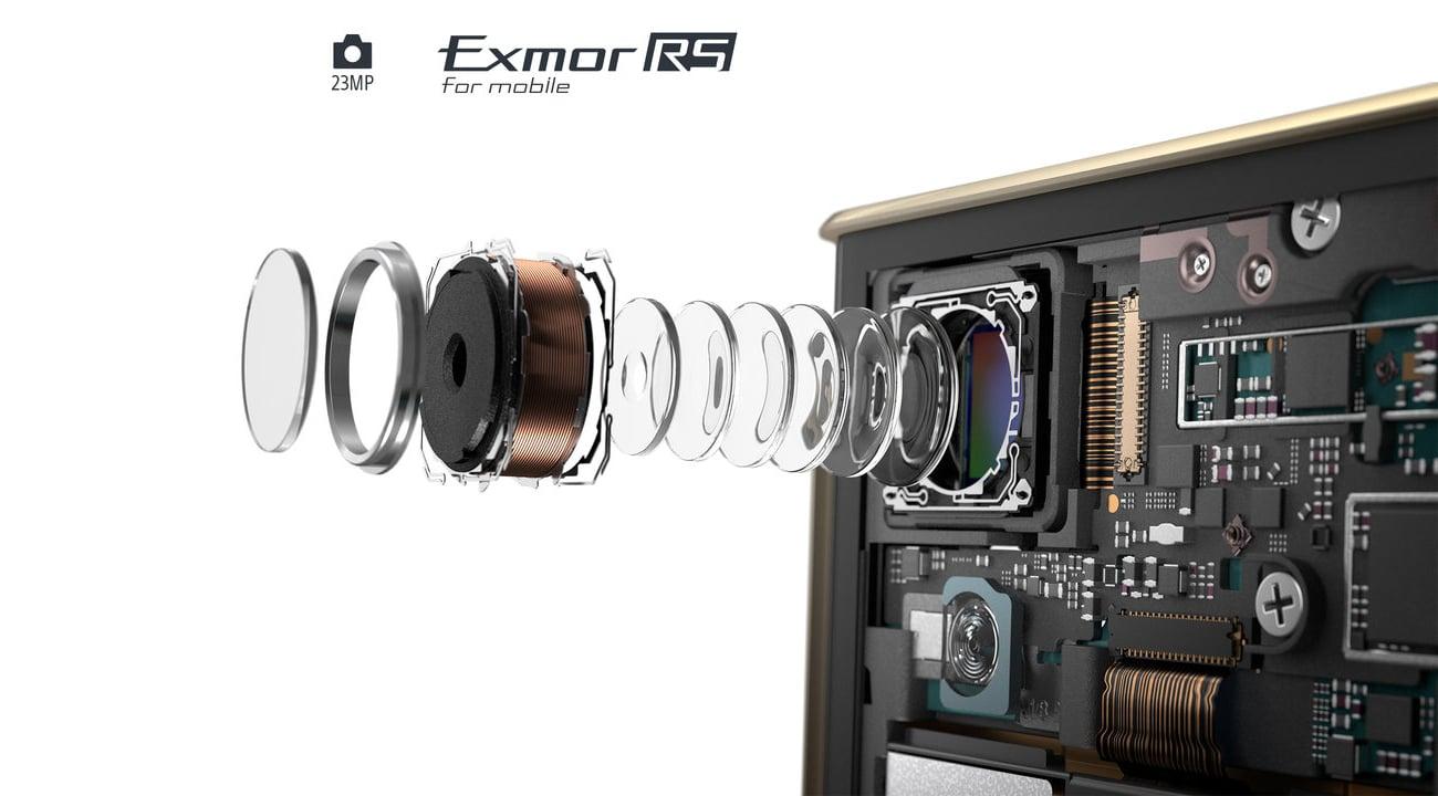 Czarna Sony Xperia XA1 Plus aparat 23 mpix exmor rs