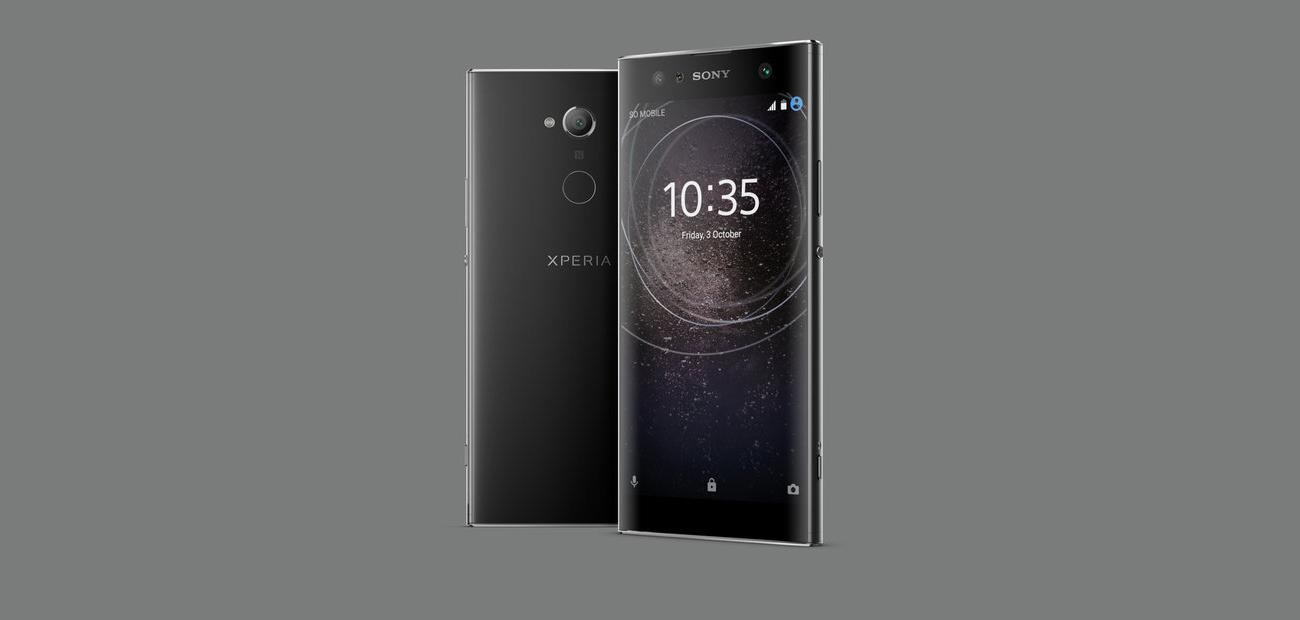 Sony Xperia XA2 Ultra android 8.0 oreo