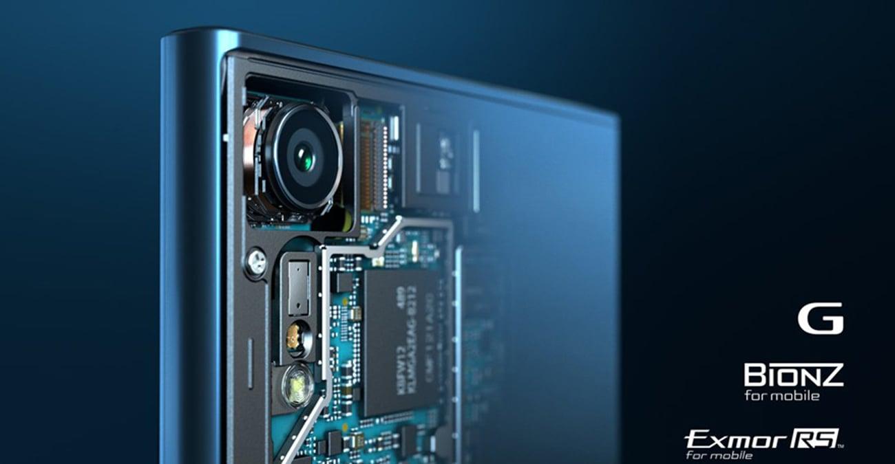 Sony Xperia XZ aparat 23 mpix EXMOR RS BIONZ