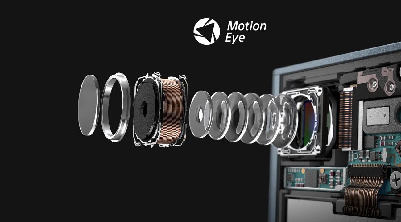 Sony Xperia XZ Premium chrome silver matryca Exmor RS