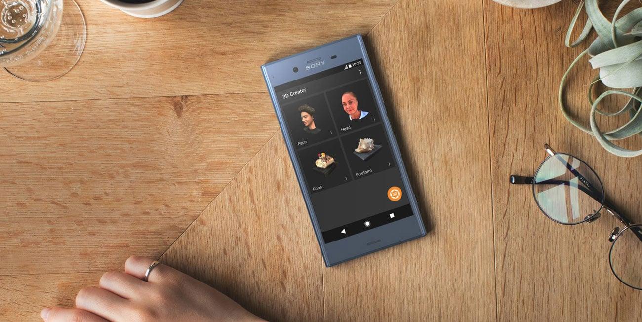Sony Xperia XZ1 kreator 3D
