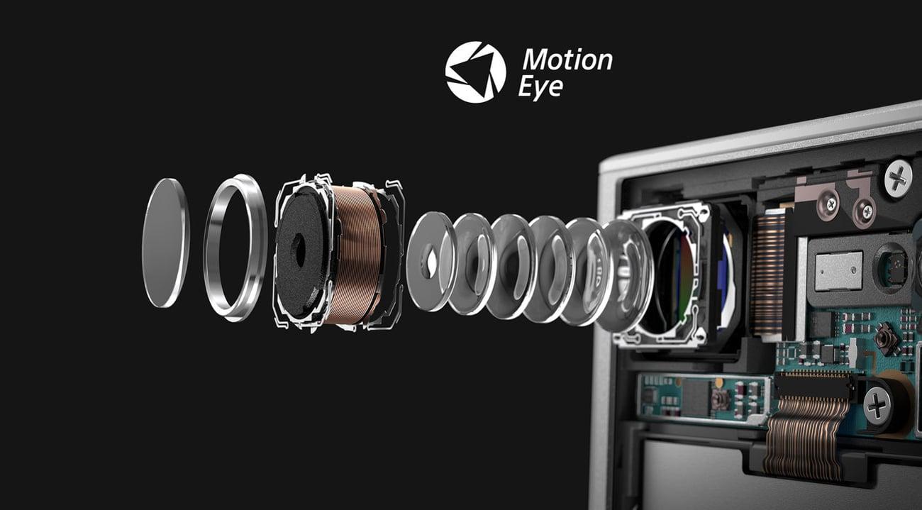 Sony Xperia XZ1 Compact matryca Exmor RS 19 mpix bionz