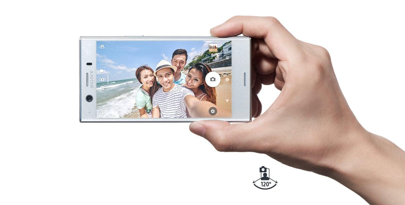 Sony Xperia XZ1 Compact panoramiczny obiektyw 8 mpix