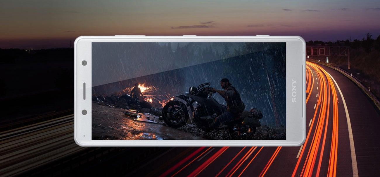 Sony Xperia XZ2 compact ośmiordzeniowy procesor Snapdragon 845 bateria 2870 mAh Smart stamina