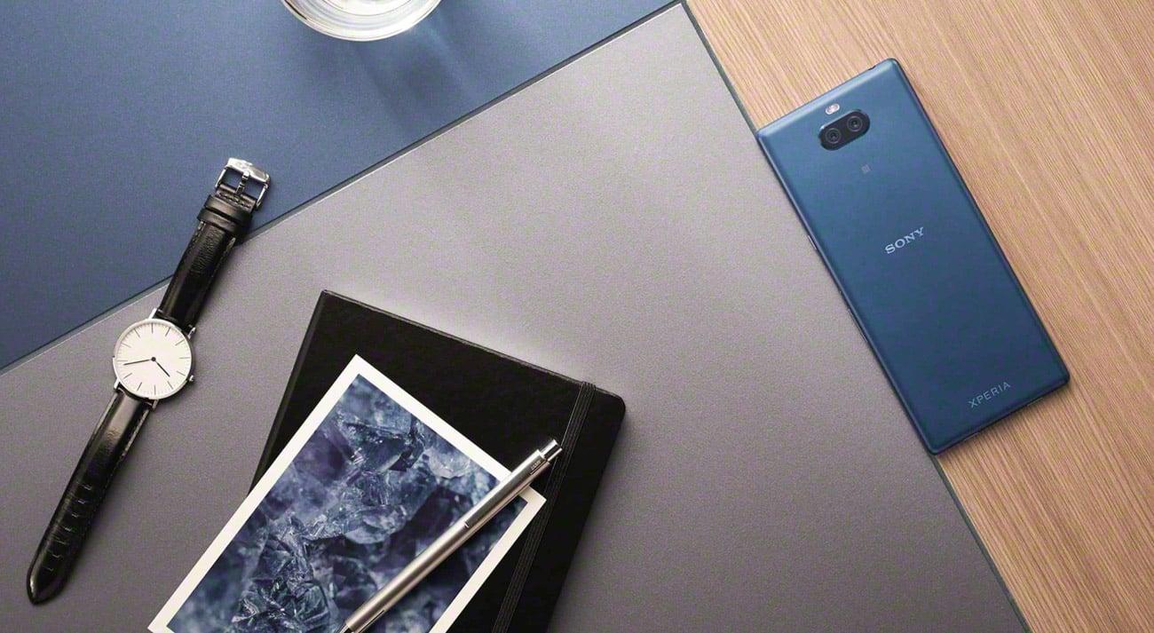 SONY Xperia 10 plus smukła metalowa obudowa unibody