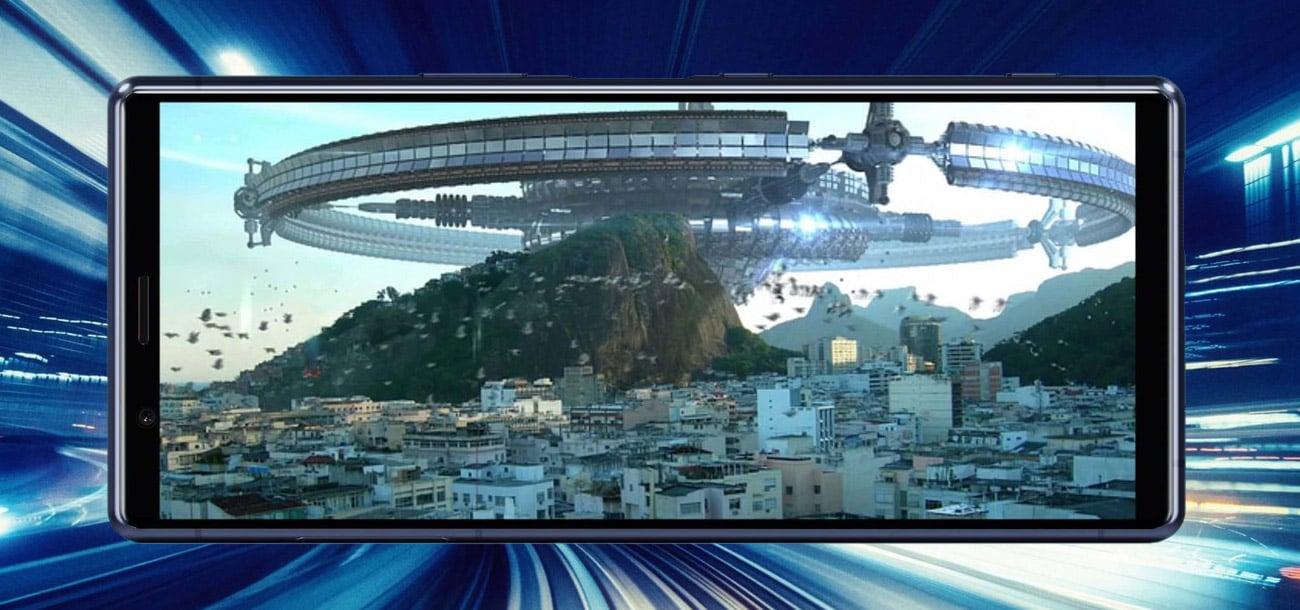 SONY Xperia 5 ultra szeroki ekran cinemavision hdr oled bravia