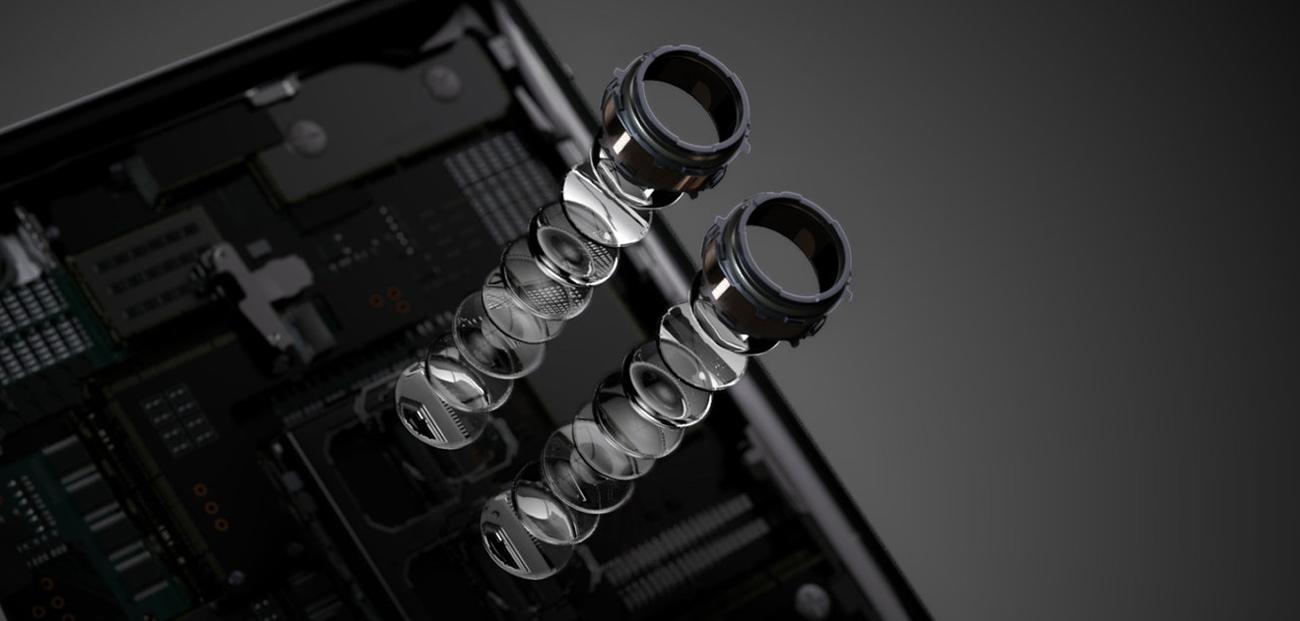 Sony Xperia XZ2 Premium udoskonalony aparat Motion Eye 19 + 12 Mpix