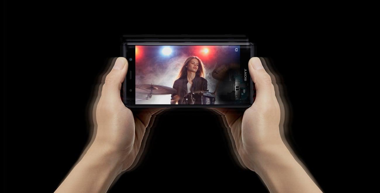 Sony Xperia XZ2 Premium ekran 5,8 Full HD+ HDR TRILUMINOS dynamic vibration