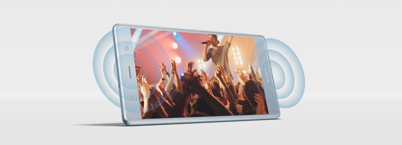 Sony Xperia XZ2 Premium cyfrowe ulepszanie dźwieku DSEE HX stereo LDAC