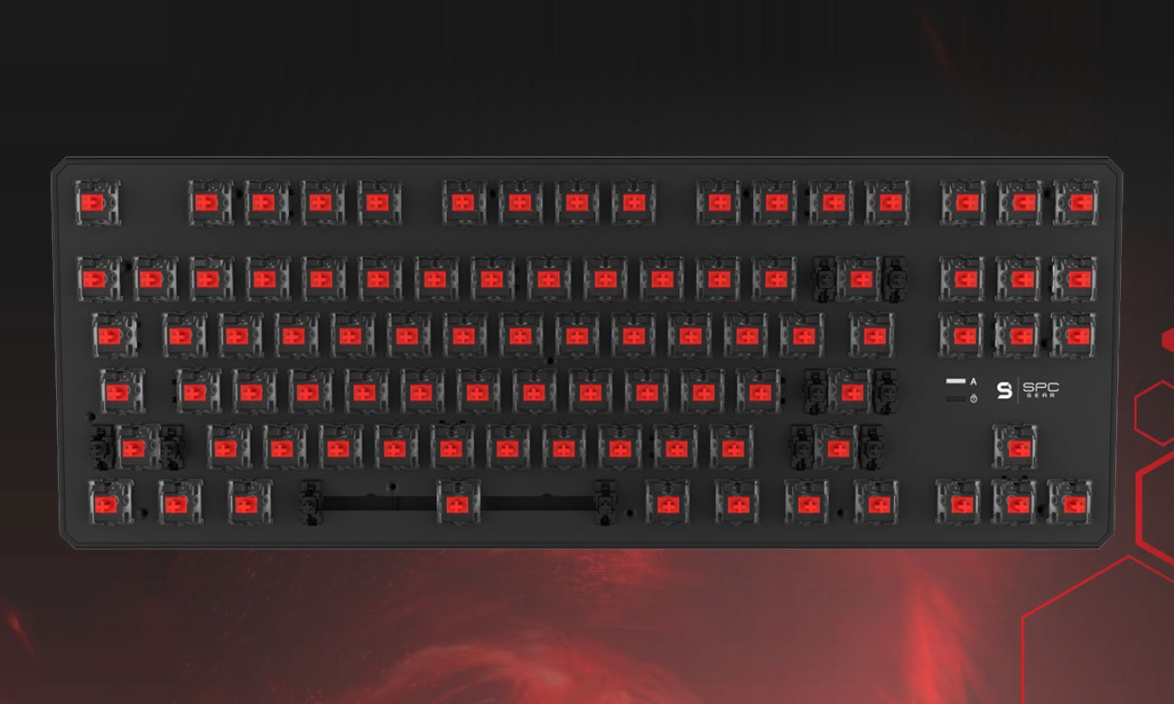 SPC Gear GK530 Tournament Kailh Red RGB