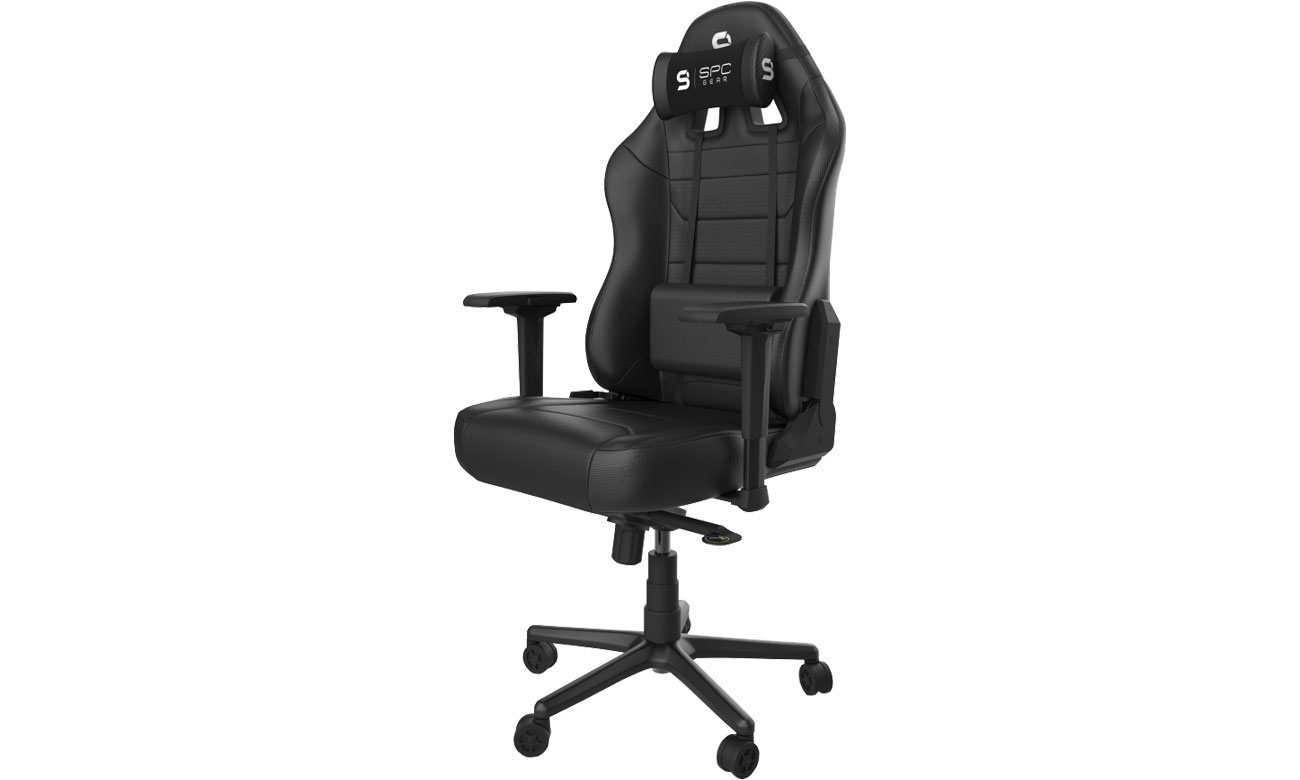Fotel gamingowy SPC Gear SR800 (Czarny) SPG031
